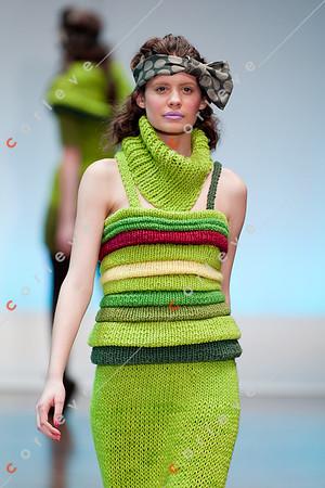 2010 Melbourne Spring Fashion Week - RMIT Dangerous Goods Runway 2 - Meg Kolac