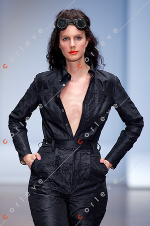 2010 Melbourne Spring Fashion Week - RMIT Dangerous Goods Runway 2 - Fiona Torcasio