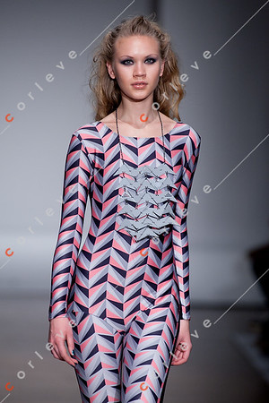 2010 Melbourne Spring Fashion Week - RMIT Dangerous Goods Runway 2 - Sarah Kirby