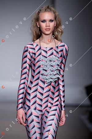 2010 Melbourne Spring Fashion Week - RMIT Dangerous Goods Runway 2 - Sarah Kirby