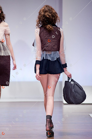 2010 Melbourne Spring Fashion Week - RMIT Dangerous Goods Runway 2 - Kate Bolzonello