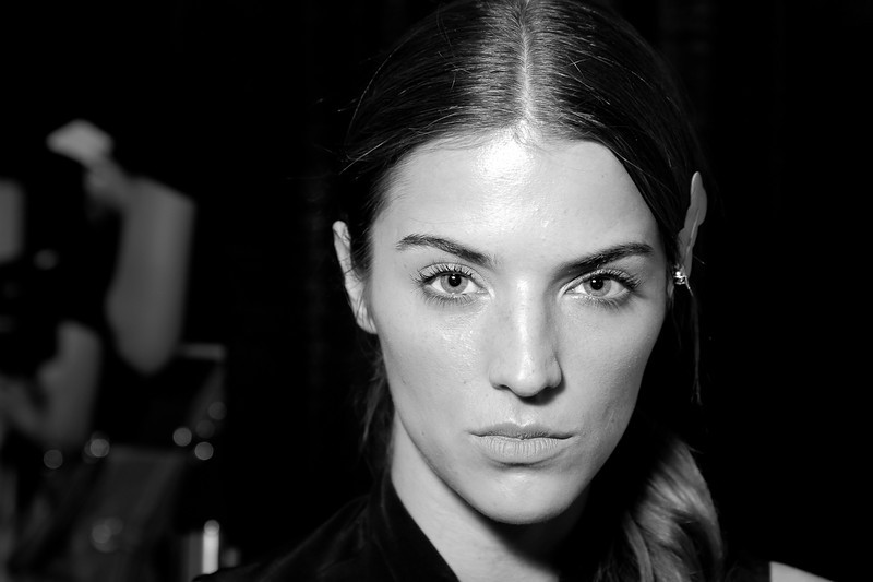 Milly Backstage NYFW SS 2012