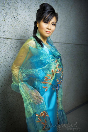 Miss Asia National Contestant - Morgan Le