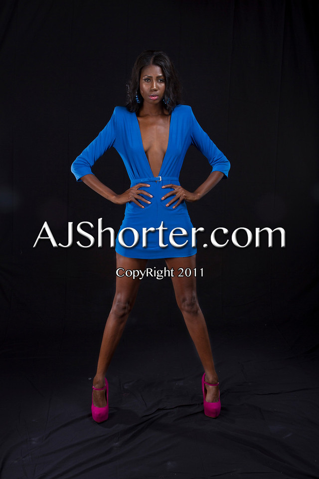 Designer Bernard Holley & MUA <br /> Glamazon Models<br /> SNYTCH Magazine Shoot 2012