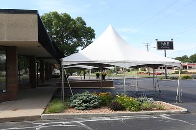 Mr. B's   Annual Tent  Sale