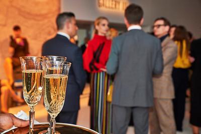 Feb. 9, 2017 - NYFW Feb 2017 Etihad Airways Fashion Cocktail Party  Hamish Bowles and Lauren Santo Domingo