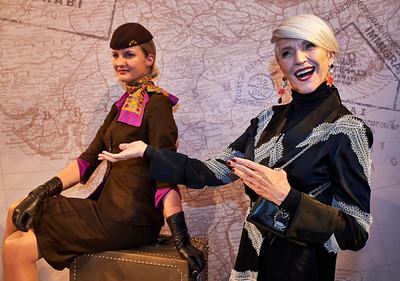 Feb. 9, 2017 - NYFW Feb 2017 Etihad Airways Fashion Cocktail Party  Maye Musk
