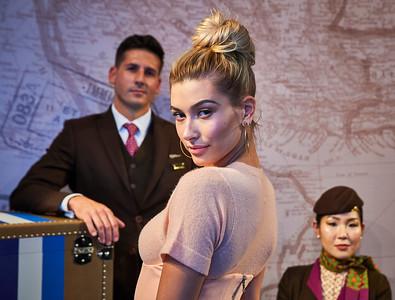 Feb. 9, 2017 - NYFW Feb 2017 Etihad Airways Fashion Cocktail Party   Hailey Baldwin