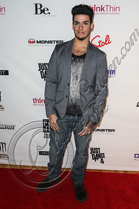NEW YORK, NY - SEPTEMBER 10:  Singer Santino Noir attends Abbey Dawn By Avril Lavigne Spring 2013 at the Metropolitan Pavilion on September 10, 2012 in New York City.  (Photo by Chelsea Lauren/Getty Images)