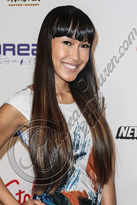 NEW YORK, NY - SEPTEMBER 10:  Singer Baiyu attends Abbey Dawn By Avril Lavigne Spring 2013 at the Metropolitan Pavilion on September 10, 2012 in New York City.  (Photo by Chelsea Lauren/Getty Images)
