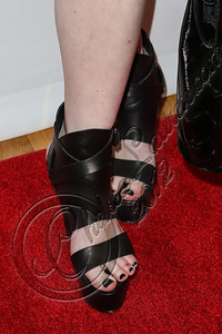 NEW YORK, NY - SEPTEMBER 10:  Musician Madame Mayhem (shoe detail) attends Abbey Dawn By Avril Lavigne Spring 2013 at the Metropolitan Pavilion on September 10, 2012 in New York City.  (Photo by Chelsea Lauren/Getty Images)