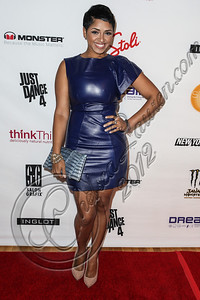 NEW YORK, NY - SEPTEMBER 10:  Singer RaVaughn Brown attends Abbey Dawn By Avril Lavigne Spring 2013 at the Metropolitan Pavilion on September 10, 2012 in New York City.  (Photo by Chelsea Lauren/Getty Images)
