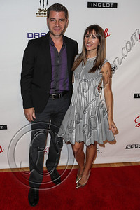 NEW YORK, NY - SEPTEMBER 10:  TV personality Tom Murro (L) and Rachel Heller attend Abbey Dawn By Avril Lavigne Spring 2013 at the Metropolitan Pavilion on September 10, 2012 in New York City.  (Photo by Chelsea Lauren/Getty Images)