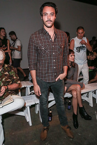 NEW YORK, NY - SEPTEMBER 07:  Actor Jack Huston attends Billy Reid's spring 2013 fashion show during Mercedes-Benz Fashion Week at Eyebeam on September 7, 2012 in New York City.  (Photo by Chelsea Lauren/Getty Images)
