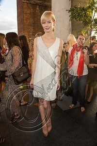 NEW YORK, NY - SEPTEMBER 05:  Designer Erin Fetherston attends the Erin by Erin Fetherston spring 2013 presentation during Mercedes-Benz Fashion Week at The Standard Hotel on September 5, 2012 in New York City.  (Photo by Chelsea Lauren/Getty Images)
