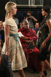 NEW YORK, NY - SEPTEMBER 11:  Andre Leon Talley attends the Laura Smalls spring 2013 fashion show during Mercedes-Benz Fashion Week at the Andaz Hotel on September 11, 2012 in New York City.  (Photo by Chelsea Lauren/Getty Images)