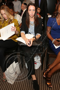 NEW YORK, NY - SEPTEMBER 11:  Amanda Frankel of ELLE attends the Laura Smalls spring 2013 fashion show during Mercedes-Benz Fashion Week at the Andaz Hotel on September 11, 2012 in New York City.  (Photo by Chelsea Lauren/Getty Images)