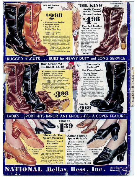 National's Money Saving Style Book Fall & Winter 1933 p  156