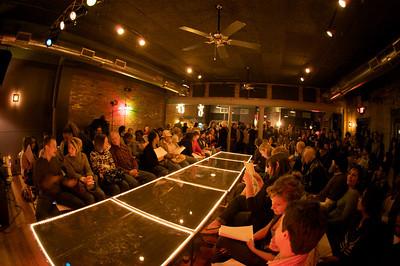 The Northside Tavern was transformed for the Rock n' Roll Fashion Show Rock n' Roll Fashion Show at Northside Tavern