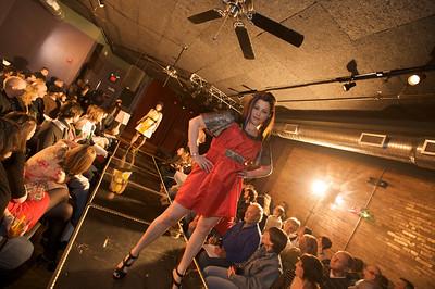 Delia P. Hider Rock n' Roll Fashion Show at Northside Tavern