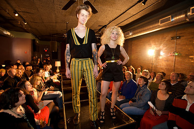 Ross and Laura Dolan Rock n' Roll Fashion Show at Northside Tavern
