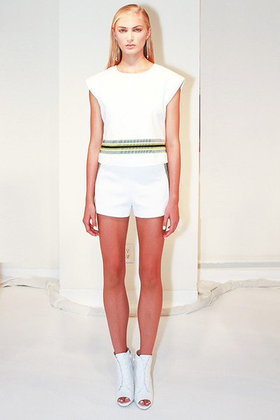 Odilon Backstage and Presentation NYFW SS 2012