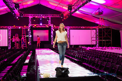 Show Rehearsals Fashion Show Eve