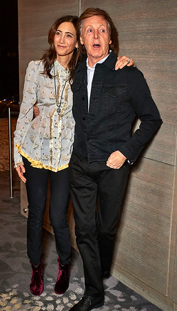 Cocktail party celebrating the Simon Aboud's  (son in law of Paul McCartney) film 'This Beautiful Fantastic'  at The Park Hyatt Hotel in Manhattan, New York City, USA - December 19, 2016