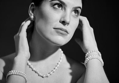 April 22, 2017 - New York, NY - Perfectly Pearl Jewelry shoot  Model/designer- Ariel Mueller MUA-Isabelle Pantell  Credit - Robert Altman