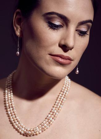 April 22, 2017 - New York, NY - Perfectly Pearl Jewelry shoot  Model/designer- Ariel Mueller MUA-Isabelle Pantell  Credit - Robert Altman