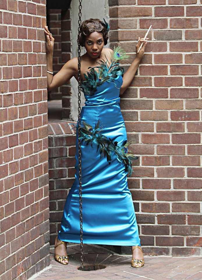 Washington, DC - June 4: 1st photo shoot held at MOCA Studio with Cam (MUA), Karma (model), Lady Tre' (Everything), Samantha (stylist), Shana Janelle (MUA), Tamika Williams (MUA), Jermaine Lewis (model), Candice, LaQuia Wyche (model), Ebony (model) and a few others who names fail me (2 models and 1 stylist) at this time.  June 4, 2011 in Washington, DC.  (Photo by Leah L. Jones/LLJ Photography)