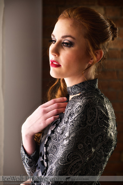 Model: Calli Nicole Gade<br /> Hair: John Gordon<br /> MUA: Michelle Gordon<br /> Dress: Rebekah McKinney<br /> Photography: Alex Weisman