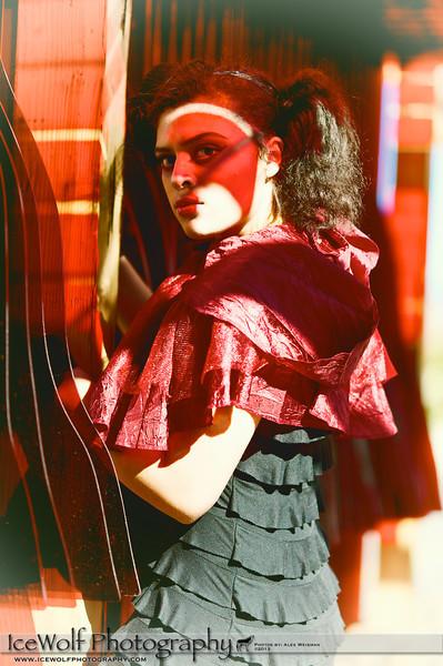 Model: Tiana Sharpie<br /> MUA: Jez Roberts & Lucius Opialo<br /> Photographer: Alex Weisman
