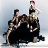 Concept: Nicole Albright<br /> Models: Allison Weller, Kristi Hyde, Nicole Albright, Katie Coker, Kimberly Shepherd<br /> Photographer: Alex Weisman