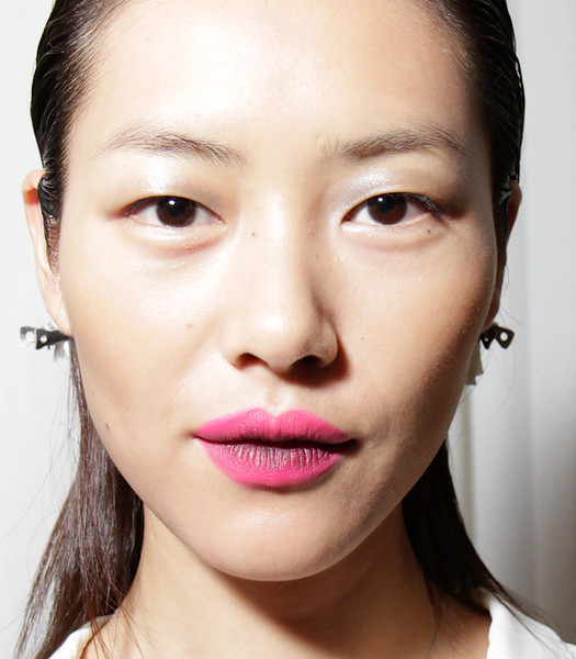 Backstage at Prabal Gurung NYFW SS 2012