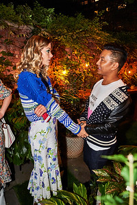 September 10, 2017- New York, NY -  Prabal Gurung post-show dinner at Standard East Village NYFW Fall 2017   Photographer- Robert Altman Credit: Robert Altman