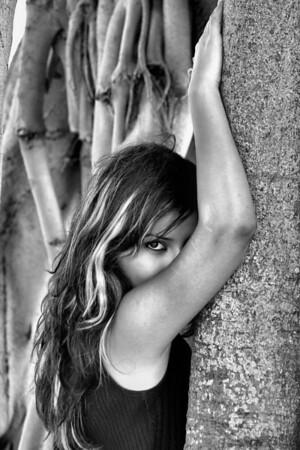 Tree Hugger BW