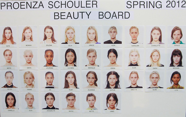 Proenza Schouler NYFW SS 2012 Backstage