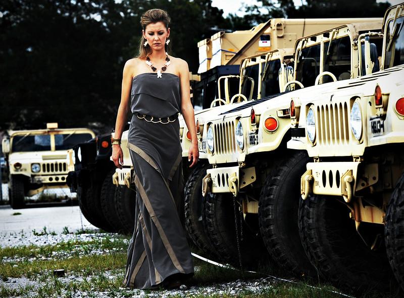 TREND: Military.<br /> RUNWAY INSPIRATION: Alexander McQueen.