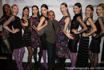 "Raul Peñaranda, declared by Forbes magazine as ""one of the fastest growing fashion entrepreneurs,"" will proudly debut his Fall/Winter 2013 ready-to-wear collection at Mercedes-Benz's Fashion Week on February 13th.  Peñaranda is not just another designer.  He's an inspiration.  From an impoverished neighborhood in Venezuela to the runways of high fashion, Peñaranda's meteoric rise is a testament to the human spirit, the can-do attitude of a designer unwilling to fail, and a simply unparalleled talent.   ""Peñaranda also plays a major role in keeping hundreds of the New York Garment District factory workers employed. He accomplishes this by continuing to manufacture new collections each season, which have grown in demand each run since his 2010 launch. While most high-end NY designers manufacture 80% of their collections in New York, Raul makes it his business to manufacture 100% of his designs in the USA as he continues to build his brand."" ~ Forbes."