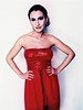 Analogical Photo Red Dress Glittering Top