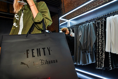 "Rihanna ""FENTY"" Pop-Up Shop Opens in NY"