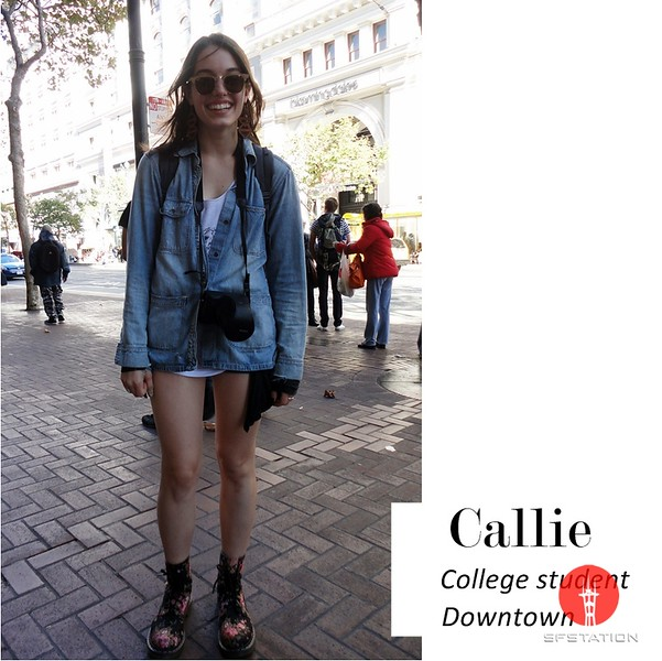 Photo of Callie.  Photo by Yi-Ting Chen.  <br /> Photography by Academy of Art University School of Fashion students. <br /> One of the countries top fashion schools: <br /><br /> http://www.academyart.edu/ep/top-fashion-school/index.html <br /><br />