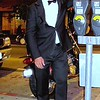 """Photo by Lily Ko<br /> <br /> In This Scene: Patrick Wang, celebrating his birthday by bar hopping along Polk St. in a full tux--very classy, indeed. Wang is wearing a tuxedo by United Colors of Benetton and a custom made white shirt. The outfit was for a boys night out with a play on the """"Tuxedo Night"""" theme from the hit sitcom, """"How I Met Your Mother""""."""