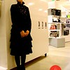 Photo by Lily Ko<br /> <br /> In This Scene: Asuka Hagiwara of Black Peace Now, in the New People building in Japantown. Her high, fluted collar and layered skirt show how to do a more elegant, gothic-look. The separates are from BPN.