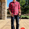 Photo by Lily Ko<br /> <br /> In This Scene:  Eric Tian, an activewear designer, outside Silver Oak Cellars in Napa. Tian sports a very Northwest summer look with check top by Gant and brandless jeans from a boutique in Portland.