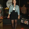 Photo by Lily Ko<br /> <br /> In This Scene:  Marisa Alexander, a student at USF, shows how hipsters do basics. I'm the biggest fan of high-waisted everything on women. Bringing your waistline up is super flattering because it draws your eyes up higher, thus lengthening your legs. Alexander paired her high-waisted pencil skirt with a cropped faded denim jacket, to lengthen even more. Simple and so flattering.