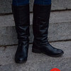 Photo by Tessa Morris<br /> <br /> In this photo: Karen's boots are from Steve Madden.