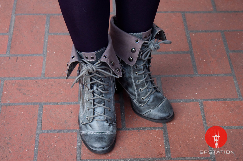 Photo by Tessa Morris<br /> <br /> In this scene: Fuuma's boots are from Bakers.
