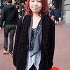 Photo by Tessa Morris<br /> <br /> In this scene: Fuuma absolutely loves shopping in San Francisco. Her favorite areas are Haight Street and Downtown SF.